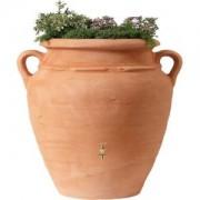 Garantia regenton amphora terra 600 liter met plantenbak