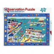 Puzzle, Trefl, Vizitam portul, 70 elemente