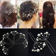 AliExpress 5 Stks Simuleren Parel Haarspelden Kapsels Wedding Bridal Haarspelden Haar Sieraden Accessoires Hairwear Meisjes Haarspeldjes Voor Vrouwen
