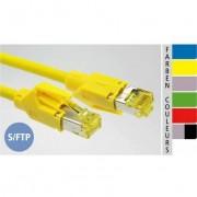 EC-net Patchkabel Kat. 6A S/FTP, grün, 0,5 m