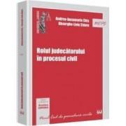 Rolul judecatorului in procesul civil - Andrea-Annamaria Chis