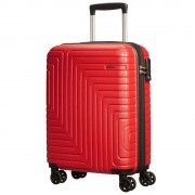 American Tourister Trolley Cabina 55cm 4 Ruote Leggero 2,4kg Mighty Maze Red