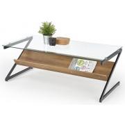 Home Style Glazen salontafel Izeda 120 cm breed