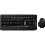 Logitech - MX900 Wireless Keyboard and Mouse Bundle - Black