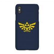 Nintendo The Legend Of Zelda Hyrule Donkerblauw Telefoonhoesje - iPhone 5/5s - Snap case - glossy