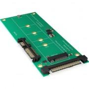 Accesoriu IT icy box adaptor M.2 SATA - SATA 3 (60127)