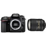 Nikon »D7500 +AF-S DX 18-300 VR« Spiegelreflexkamera (AF-S DX NIKKOR 18–300 mm 1:3,5–6,3G ED VR, 20,9 MP, WLAN (Wi-Fi), Bluetooth)