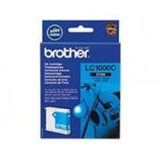 Brother Bläckpatron Brother Lc1000c 400 Sidor Cyan