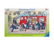 Пъзел Ravensburger 15 части - Пожарникарска кола, 7006321