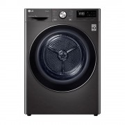 LG DVH909B Black Steel 9kg Heat Pump Dryer