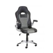 CLP Fauteuil de bureau JOHN, noir/gris CLP noir/gris, hauteur de l'assise