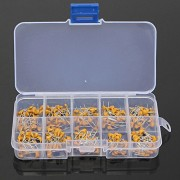 HITSAN 300pcs 10 Values 50V 10pF To 100nF Multilayer Ceramic Capacitor Assortment Kit 30pcs Each Value One Piece