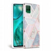 TECH-PROTECT Pouzdro pro Huawei P40 LITE - Tech-Protect, Marble Pink