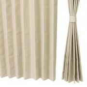 イージーオーダードレープカーテン100cm2枚組 100-134cm【QVC】40代・50代レディースファッション