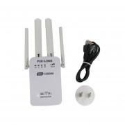 1200Mbps 5.0Ghz De Doble Banda De 2,4 Ghz/repetidor Wifi Router Wireless Range Extender Blanco
