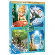 Tinkerbell - 4 filme magice cu Clopotica (4DVD)