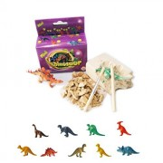 4 Pack - Assorted Excavation Kits - Dinosaur, Ice Age, Rock & Gem, Glow-in-Dark