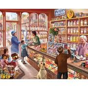 White Mountain Puzzles White Mountain Puzzles Old Candy Shop Jigsaw Puzzle (1000-Piece)