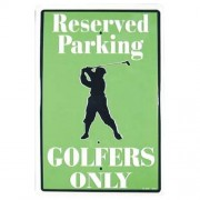 """""""Sign - Golfers Reserved Parking Only"""""""