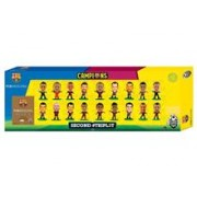 Set Figurine Soccerstarz Barcelona Treble Winners Celebration 18 Player Team Pack A