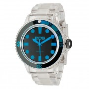EOS New York Neo Plastik Watch Clear/Blue 358SBLUCLR