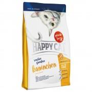 2x4kg Happy Cat Sensitive Sem Cereais com coelho ração
