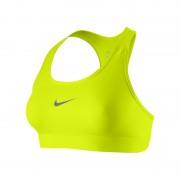 Brassière à maintien normal Nike Pro pour Femme - Jaune