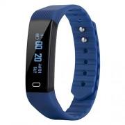 Zopsc Reloj Inteligente con Pulsera Resistente al Agua con Pantalla IPS a Color de 0.86 Pulgadas Pantalla OLED Reloj Deportivo Reloj de Pulsera con Monitor de sueño, Carga USB(Azul)