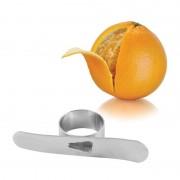 Apelsinskalare för Fingret Rostfritt Stål