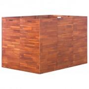 vidaXL Jardinieră de grădină, lemn de acacia, 150 x 100 x 100 cm