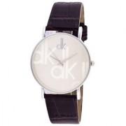 Dk Sliver KDS Dile Black Leather Belt Stylist Professional Analog Watch