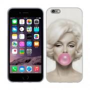 Husa iPhone 6 iPhone 6S Silicon Gel Tpu Model Marilyn Monroe Bubble Gum