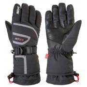 RELAX SPIRIT Lyžařské rukavice RR11A černá/červená S