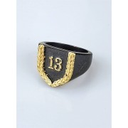 Jernhest Elias Black Ring