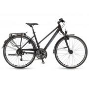 Winora Louisiana Damen 28'' 27-G Deore - 17/18 Winora schwarz matt - City Bikes 44