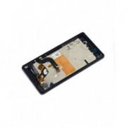 Display cu touchscreen Complet cu Rama Sony Xperia M5 E5603, E5606, E5653 Negru Original