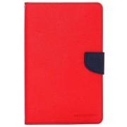 Husa tip carte Mercury Goospery Fancy Diary rosu + bleumarin pentru Samsung Galaxy Tab S2 8 (SM-T710), Tab S2 8 3G LTE (SM-T715)
