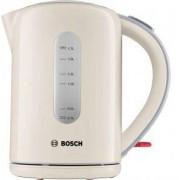 Електрическа кана Bosch TWK7607, Вместимост 1.70 литра, 2200 W мощност, Бял/Син, TWK7607