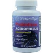 Probioticos Acidophilus 100 Millones por capsula c/100 capsulas