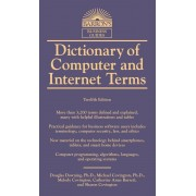 Dictionary of Computer and Internet Terms, Paperback