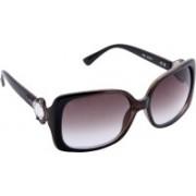 Gansta Over-sized Sunglasses(Brown)