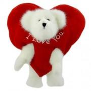 Boyds Bears Plush PEEK-A-BOO PEEKER 82075 Valentine's Day Heart New