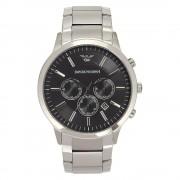 Armani relojes Ar2460 Armani acero inoxidable plata y black Watch d...