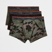 Superdry Mens Superdry Green sport trunk 3 pack (M)