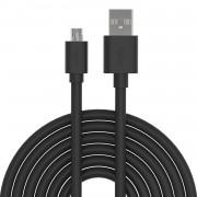 Cavo di Ricarica Rapida USB/Micro-USB 1m Nero