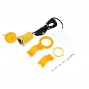 ER Interruptor USB Cable Adaptador Del Kit Para El Golf 6 Jetta RCD510+310 Con Mazo De Cables -Green&amarillo*negro