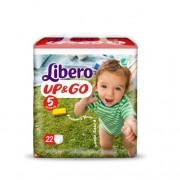 Libero UP&GO T5 10 14 Kg 21 Fraldas
