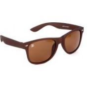 Jimmy Octan Wayfarer Sunglasses(Brown)