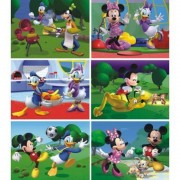 Puzzle cubic Clubul lui Mickey Mouse