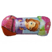Patura flausata fleece Disney-Printesa Sofia